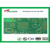 Wholesale Green Htg 12 Layer FR4 PCB Printed Circuit Board 3.8mm Thickness from china suppliers