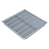 Wholesale High Mechanical Strength Anti Static Aluminum Floor Grilles 600 X 600 X 50 mm from china suppliers