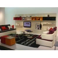 Contemporary Microfiber Living Room Sectional Sofas