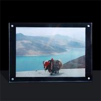Wholesale acrylic photo frame perspex photo frame for Christmas gift from china suppliers