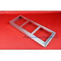 Wholesale Rectangular Stamping Metal Parts Wine Exhibition Seat With Brush Finished from china suppliers