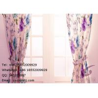 Wholesale Home Thermal Window Curtains , Room Darkening Curtains For Sliding Glass Doors from china suppliers