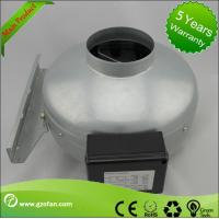 Quality Corrosion Resistance Plastic Shell Inline Circular Duct Fan For Hydroponic Plants for sale