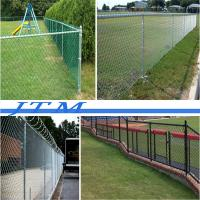 Buy cheap [China factory]For commercial use 75x75 Cyclone Wire Fence For Tennis Court made in china from wholesalers