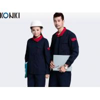 Wholesale Contrast Color Industrial / Factory Workwear Sets 100% Cotton Mens Workwear from china suppliers