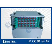 Wholesale Custom 72 Cores Fiber Optic Distribution Frame For 19 Inch Rack Enclosures from china suppliers