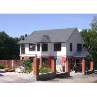 China Modular Light Galvanized Steel Structure Villa Built In Russia ISO SGS Approved on sale