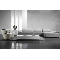 Buy cheap Italy Volakas Marble Coffee Tables White Background With Brown Vein from wholesalers