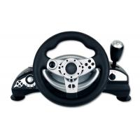 Wholesale Dual Shock Wired Large PC Game Racing Wheel With Adjustable Sensitivity from china suppliers