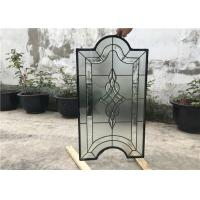Wholesale Tinted Custom Cabinet Doors Glass , Clear Decorative Glass Inserts For Cabinet Doors from china suppliers