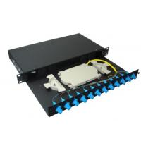 Wholesale 4 ports LAN / WAN Sliding Fiber Optic Terminal Box for FTTH Network from china suppliers