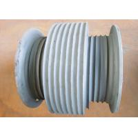 Grey Offshore Winch , Wire Rope Drum Carbon Steel / Aluminium Alloy / Stainless Steel Materials