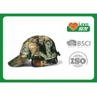 Wholesale 100% Polyester Camouflage Hunting Headwear Camo Ball Caps Unisex from china suppliers