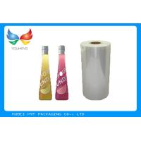 Wholesale 40mic Transparent 53% Blown Shrink PVC Labels Film For Beverage Sleeve Labels from china suppliers
