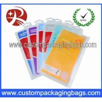 Wholesale Luxuriant Socks Packing Plastic Hanger Bags With Colorfull Printing from china suppliers