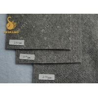 Wholesale 4mX300m Needle Punched Felt With White Flower Phthalate ( DOP ) Free PVC Dots from china suppliers