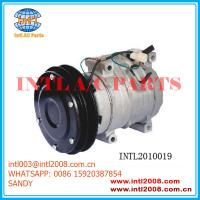 Wholesale Air conditioner Compressor for John Deere Komatsu excavator 20Y-979-6121-10S15C- NEW 447220-4053 7512875 from china suppliers