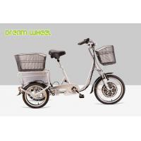 Wholesale Pedal Assisted Electric Mobility Scooter Tricycle Cargo Trike 48V 350W from china suppliers