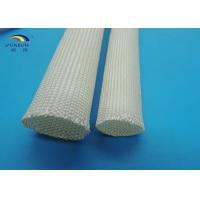 Wholesale Non-alkali Braided High Temperature Fiberglass Sleeving for Insulators / Wires Assemblies from china suppliers