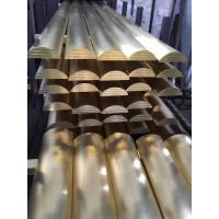 Wholesale Brass Arc Rod Radial Extruded Brass Bar / Curved Copper Rod Manufacturer from china suppliers