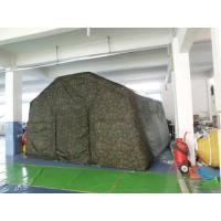 Quality Outdoor Camping Inflatable Tent , Inflatable Military Tent For Camping for sale