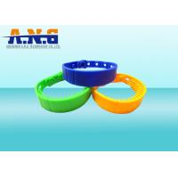 Wholesale Rewritable  ISO14443A NFC Rfid Wristbands Silicone Customized Logo from china suppliers