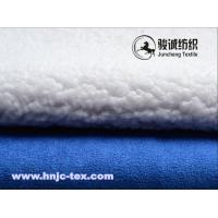 Wholesale Soft handle suede fabric with lamb wool back for woman dress and other apparels from china suppliers