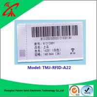 Wholesale UHF RFID 860-960MHZ tag UHF RFID woven label for clothing from china suppliers