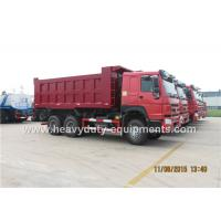 Wholesale 18 CBM HOWO 6x4 heavy duty dump truck  336 horse power as forland dump truck from china suppliers