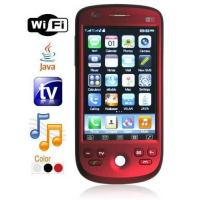 Wholesale Quad Band Dual Card Dual Standby TV Cell Phone - WiFi + JAVA + Trackball from china suppliers