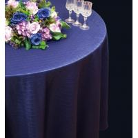 Wholesale Round Custom Cotton Table Cloth Purple For Hotels And Cafes from china suppliers