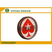 Wholesale Professional Transparent Red Pokerstar Dealer Button For Casino Game from china suppliers