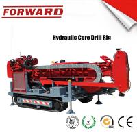 Quality 147 KW C5 Diamond Full Hydraulic Surface Core Drilling Rig Crawler Mounted for sale