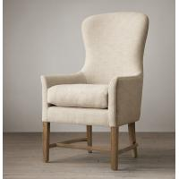 Wholesale Oversized Chairs Living Room Furniture , Solid  / Birch Oak Wing Chairs  61*67*110cm from china suppliers