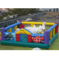 Wholesale Ocean Theme Kids Inflatables With PVC Tarpaulin 7m * 5m * 2.5m from china suppliers