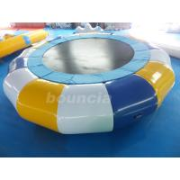 Wholesale Commercial Grade And Durable Round Inflatable Water Trampoline from china suppliers