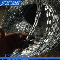 Wholesale BTO-22 low price galvanized concertina razor wire, razor wire fencing, razor barbed wire from china suppliers