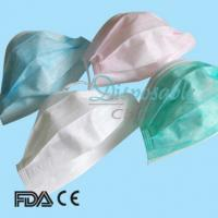 Wholesale CE ISO13485 disposable 1ply/2ply paper face mask from china suppliers