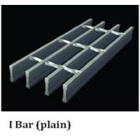 Wholesale Plain I-bar Type Steel Grating, Self Cleaning Bar Grating from china suppliers