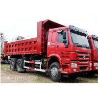 Wholesale SINOTRUK HOWO TRUCK 6 * 4 Dump Truck Trailer 10 - 20CBM 31 - 40 TON from china suppliers