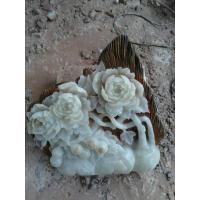 Wholesale stone relief flower carving from china suppliers