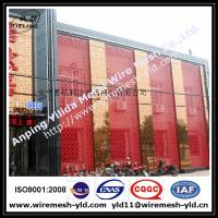 Wholesale special hole aluminum perforated metal for building facade from china suppliers