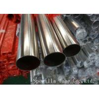 Wholesale A270-BPE 316L High Purity Stainless Steel Sanitary Pipe Mechanically polished for pharmaceutical from china suppliers
