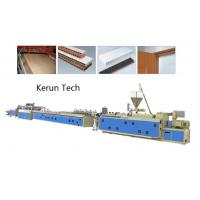 Wholesale Window Ceiling Wall Panel Plastic Profile Extrusion Line / PVC Profile Extruder from china suppliers