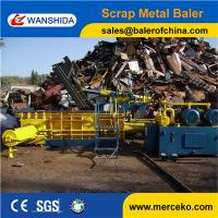 Wholesale New arrival Hydraulic Scrap Metal Baling Press to press scrap from discarded automobiles from china suppliers