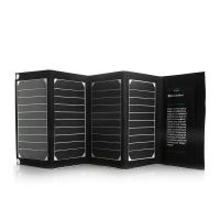 Wholesale Dual Port Portable Foldable  Solar Panel Power Bank for Smartphone iPhone / Ipad from china suppliers