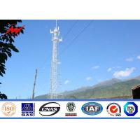 Buy cheap 80FT 90FT 100FT Galvanized Mono Pole Tower Steel Monopole Transmission Tower from wholesalers