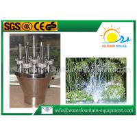 Wholesale Straight Fountain Spray Nozzles , Water Fountain Spray Heads With Big Water Column from china suppliers