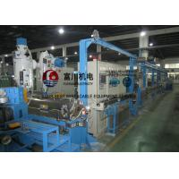 Wholesale Fuchuan Low Smoking Plastic Extruder Machine With Screw Dia 70mm For Wire Dia 1.5-12mm from china suppliers