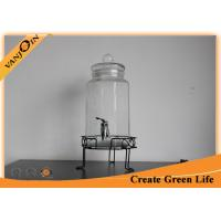 Wholesale 3.8L Eco Mason Glass Jars Octagon Shape Beverage Juice Glass Dispenser Jar from china suppliers